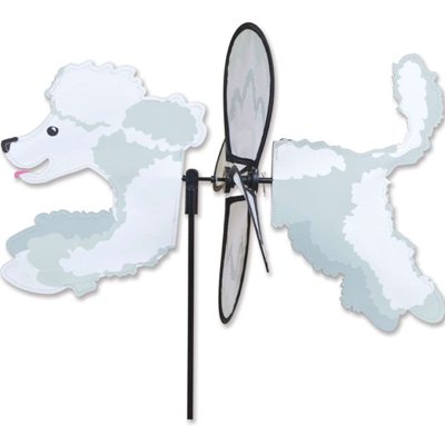 17 inch Petite Spinner - Poodle