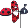 18 inch Whirly Wing Ladybug Garden Spinner