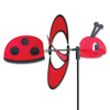 13 inch Petite Lady Bug Garden Spinner